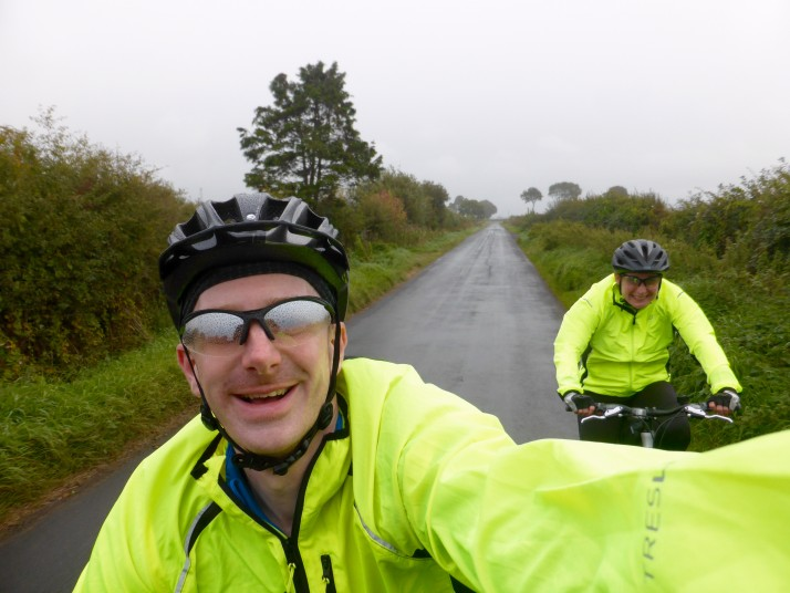 G2C2C Day 2 - Rainy selfie