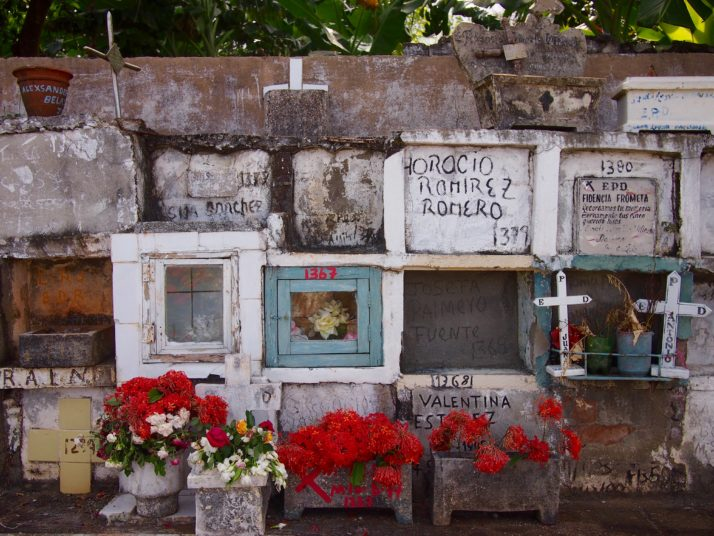 Baracoa cemetery niches