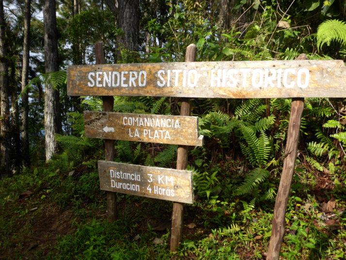 The start of the Comandancia de la Plata. 3km? After Pico Turquino that should be a doddle!