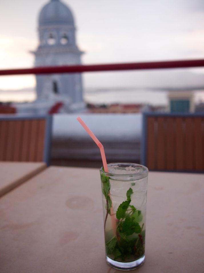 Mojito, Hotel Casa Granda, Santiago de Cuba