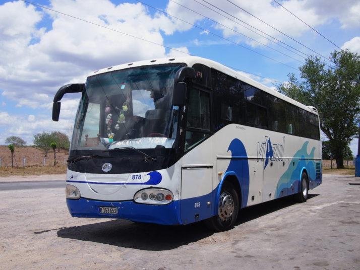 Viazul bus, Cuba