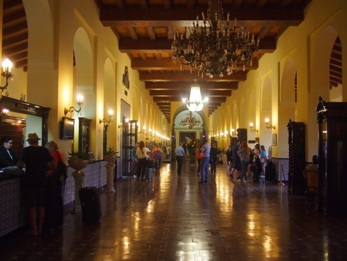 Lobby of the Hotel Nacional de Cuba