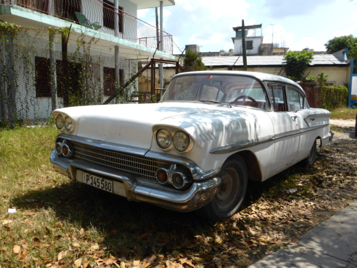 White 1958 Chevrolet Bel Air Coupe