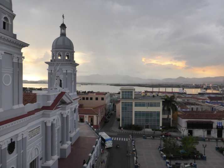 View from the Hotel Casa Granda, Santiago de Cuba