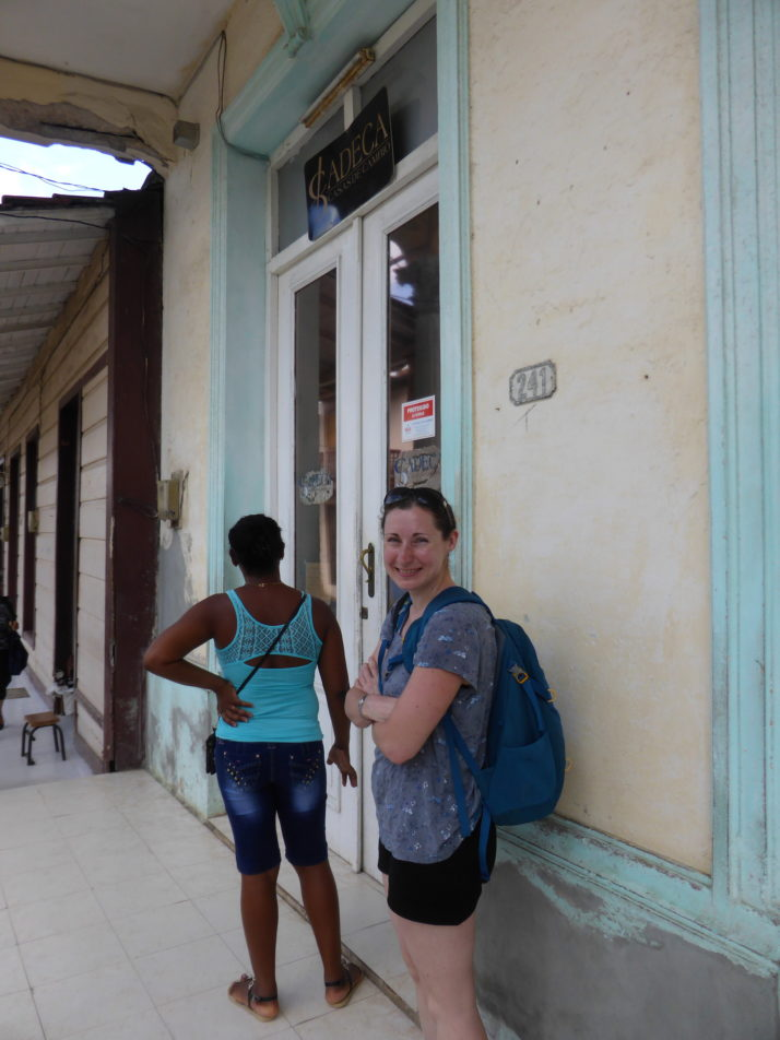 Queuing in Cuba