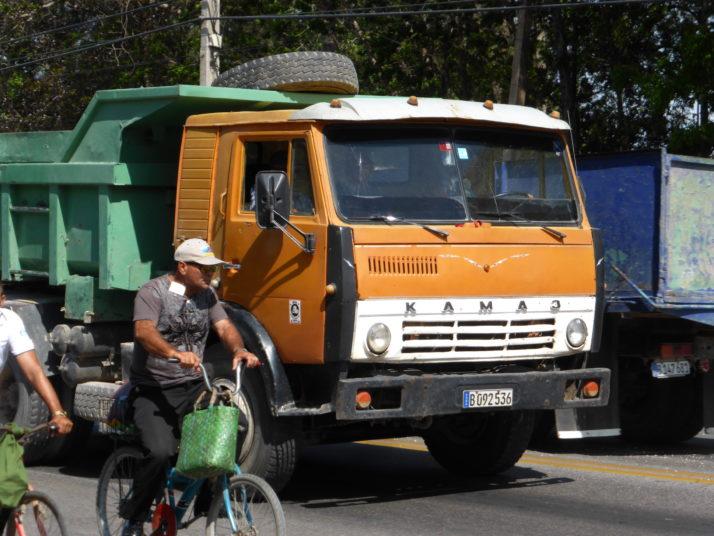 Russian Kamaz truck, Camagüey