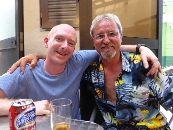 Drinks in Santa Clara with José