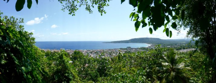 View over Baracoa