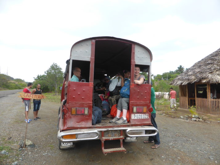 Passenger truck