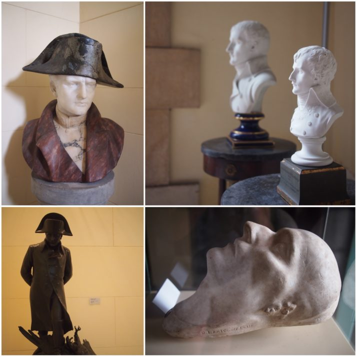 Busts and statues of Napoleon