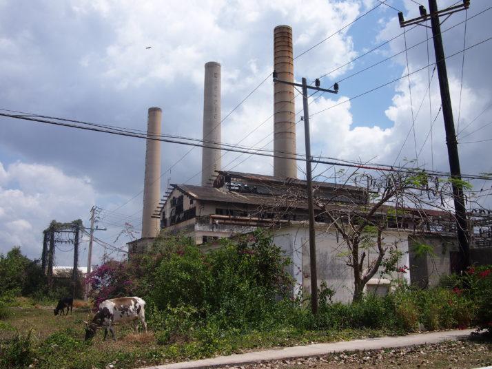 Hershey sugar mill ruins