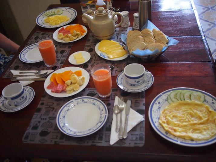 Casa particular breakfast