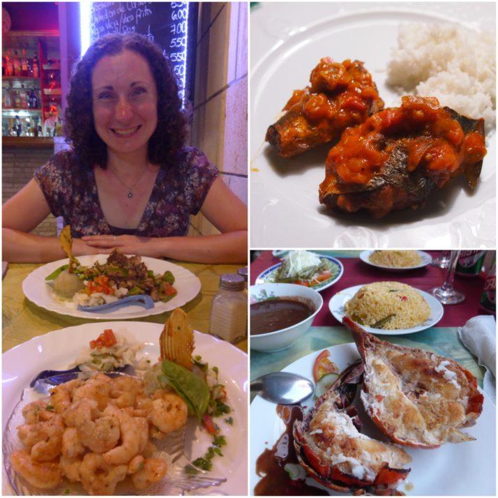 Cuban seafood