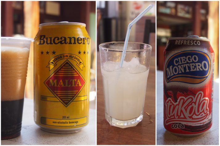 Cuban soft drinks