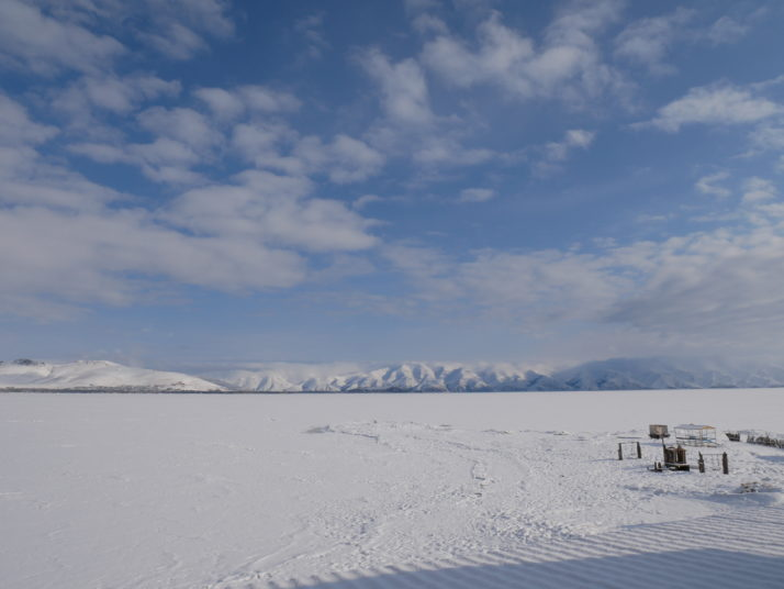 Frozen Lake Sevan