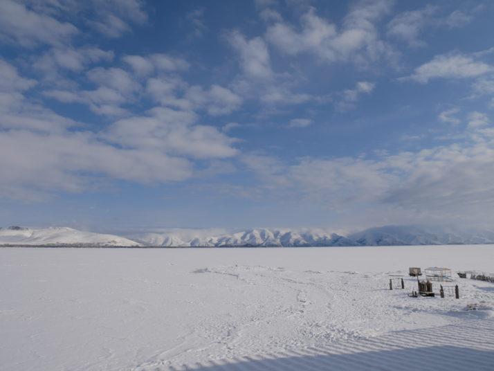Frozen Lake Sevan