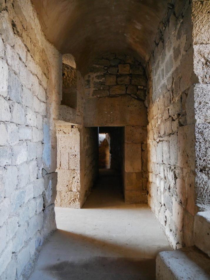 Former monk cells, Tatev, Armenia