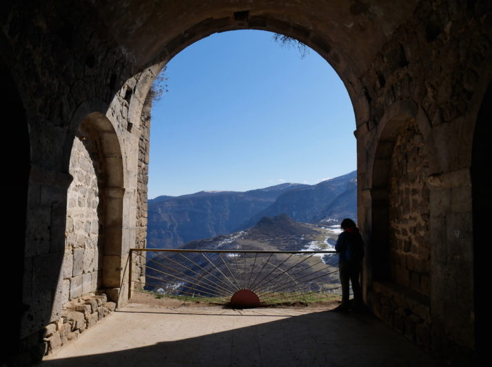 View from the monk cells, Tatev, Armenia