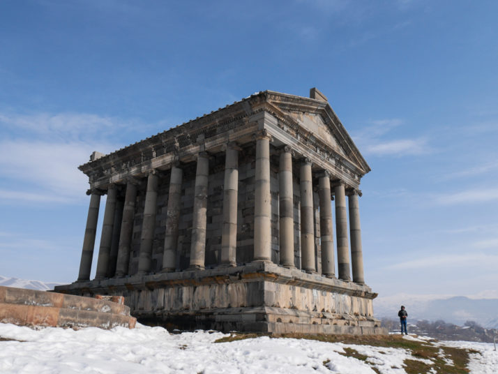 The Temple of Garni, Armenia