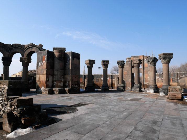 Zvartnots Cathedral Ruins, Armenia