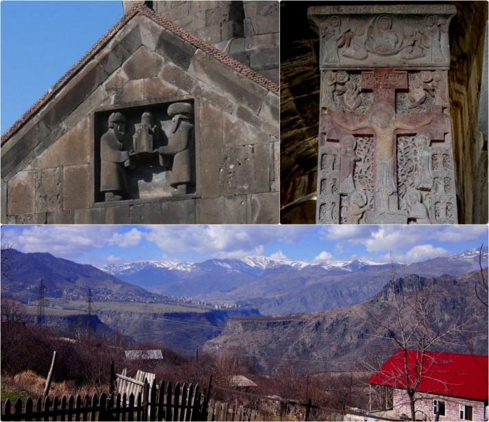 Sanahin Monastery collage