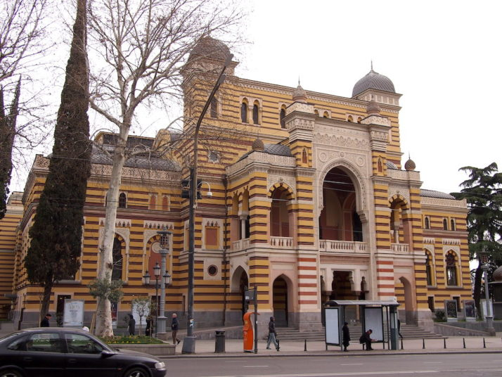 Georgian National Opera Theatre, Tbilisi, Georgia