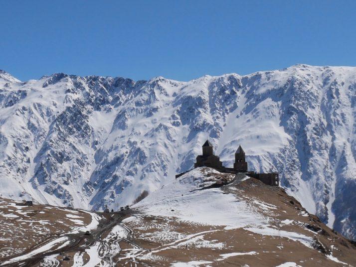 Gergeti Tsminda Sameba monastery