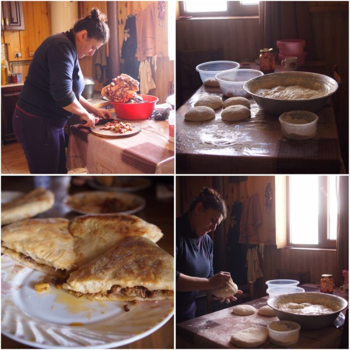 Making kubdari in Ushguli