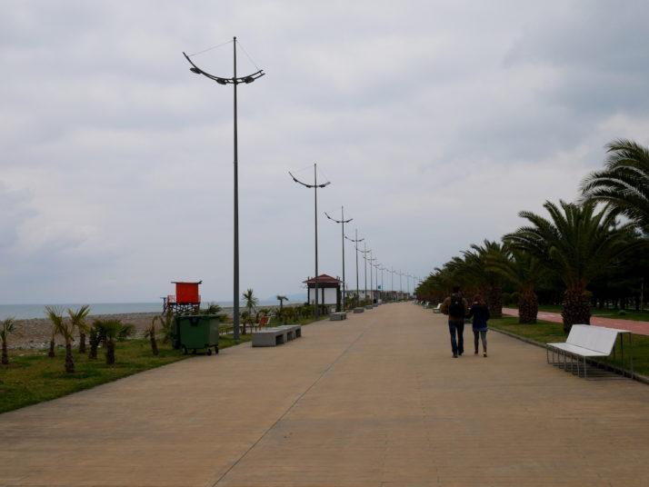 Boulevard, Batumi, Georgia