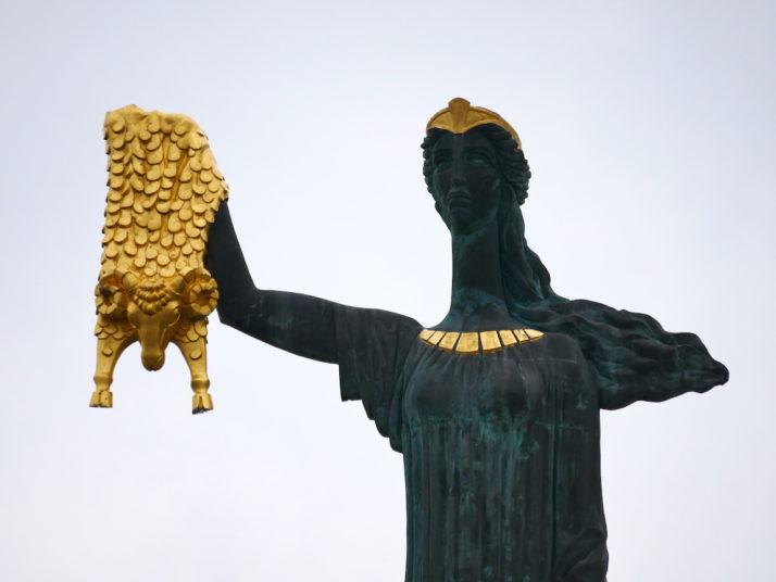 Medea monument, Batumi, Georgia