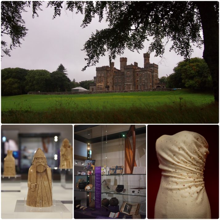 Lews Castle and exhibits from Museum Nan Eilean