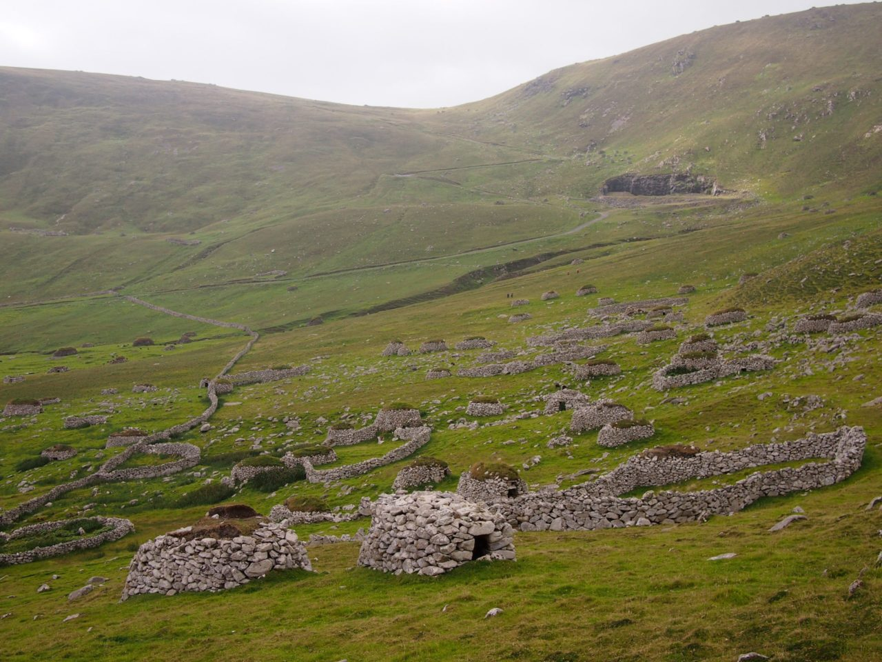 Cleits on the hills of Hirta